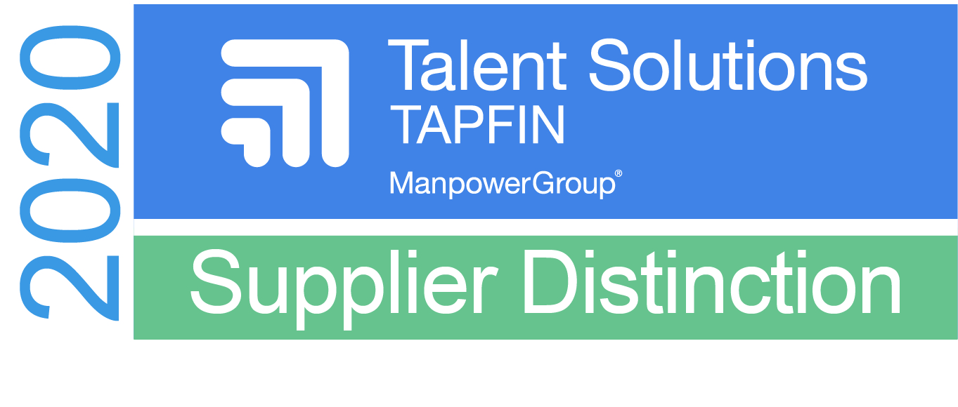 TAPFIN Top Partner Award – 2020 Supplier Distinction Badge