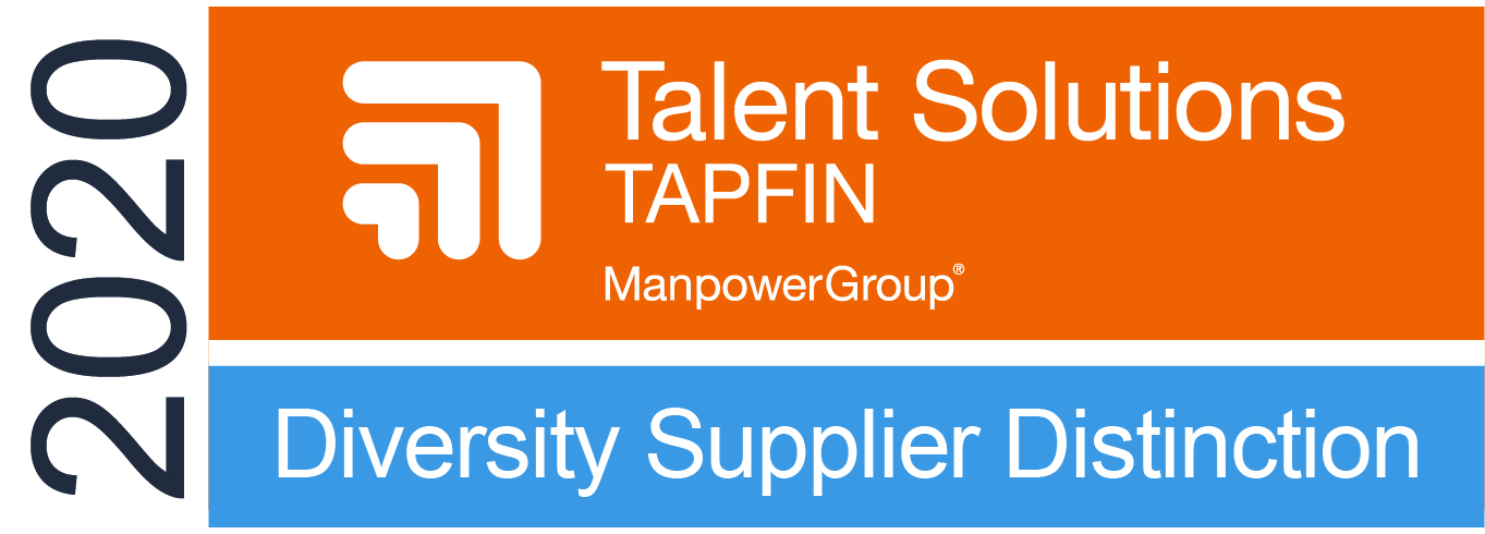 TAPFIN Top Partner Award – 2020 Diversity Supplier Distinction Badge
